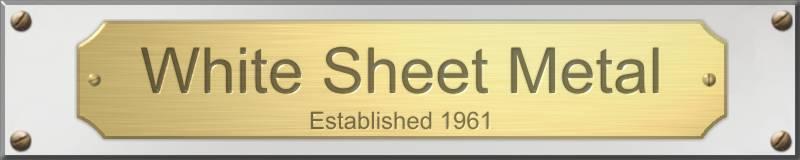 White Sheet Metal : White sheet metal
